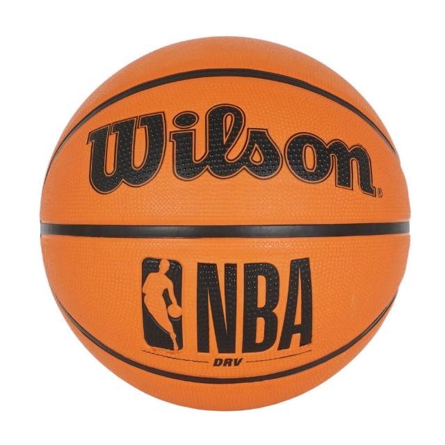 【WILSON】Wilson NBA DRV 籃球 6號 女性 耐磨 橡膠 室外 抓地力強 經典橘(WTB9300XB06)