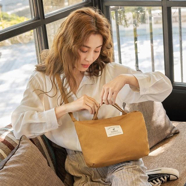 【Kiiwi O!】韓系極輕便兩用隨行帆布包 FREDA 多色選
