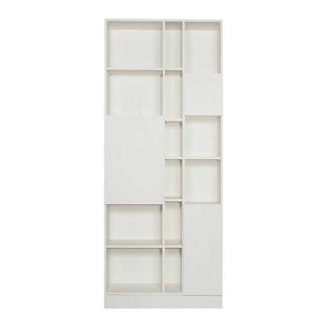 【Arkhouse】伯利恆系列-書房三門十八格3尺高櫃A款W90*H218*D35