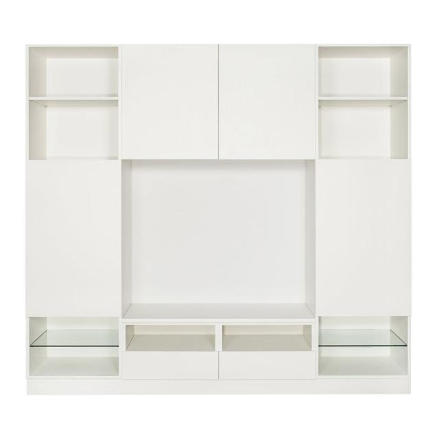 【Arkhouse】伯利恆系列-客廳基本款電視高櫃W240*H218*D50