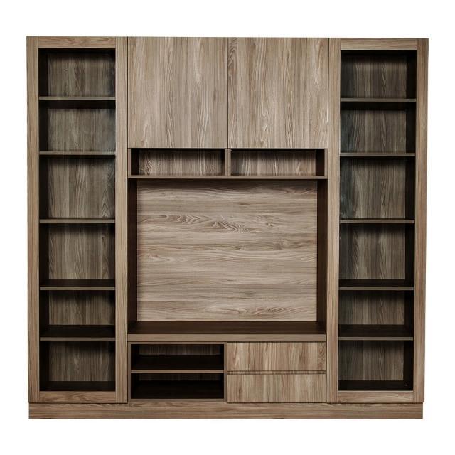 【Arkhouse】伯利恆系列-客廳電視收納展示視聽櫃W200*H218*D50