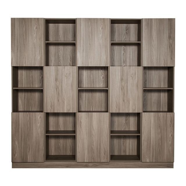 【Arkhouse】伯利恆系列-書房八門三十格8.3尺五高櫃加大W250*H218*D35