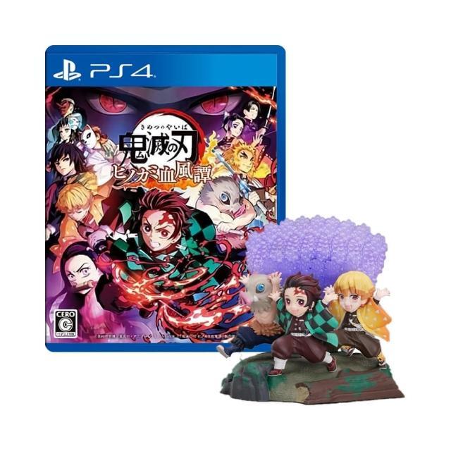 【SONY 索尼】限定版 PS4 預購10/14上市★《鬼滅之刃 火之神血風譚》(中文版)