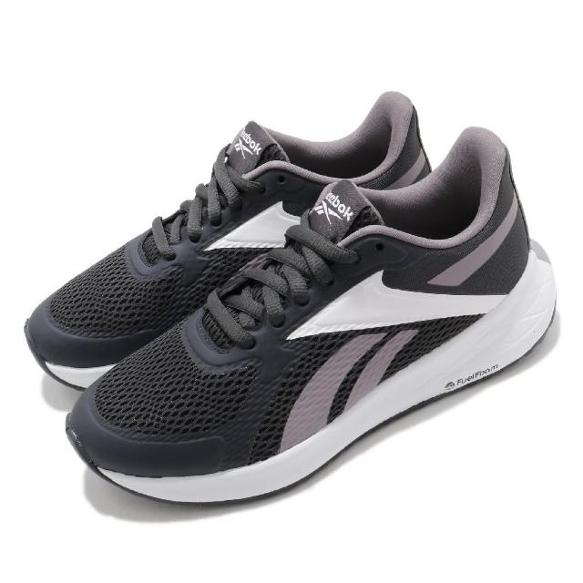 【REEBOK】慢跑鞋 Energen Run 運動 女鞋 輕量 透氣 舒適 避震 路跑 健身 灰 白(FU8575)