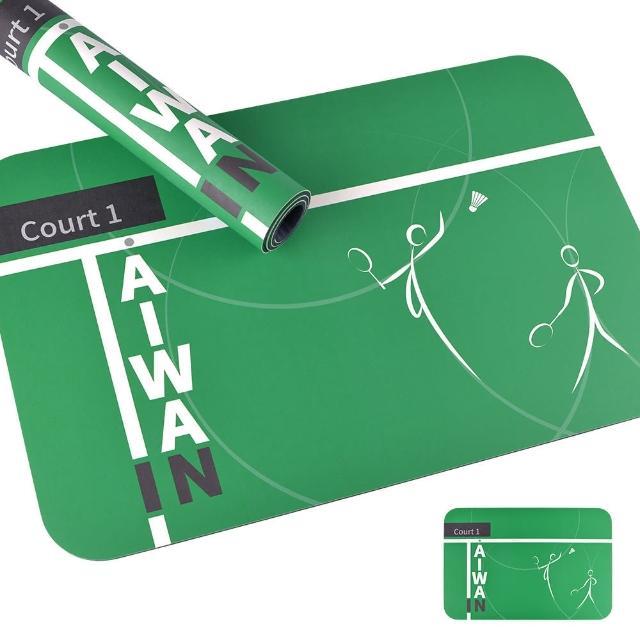 【怪獸】東奧限量版 羽球TAIWAN IN 頂吸 軟式珪藻土吸水地墊(60cm x 40cm)