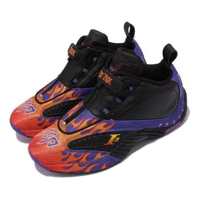 【REEBOK】籃球鞋 Answer IV 艾佛森 拉鍊 男鞋 Hot Rod 摩托車賽 Iverson 黑 紅(FY9689)