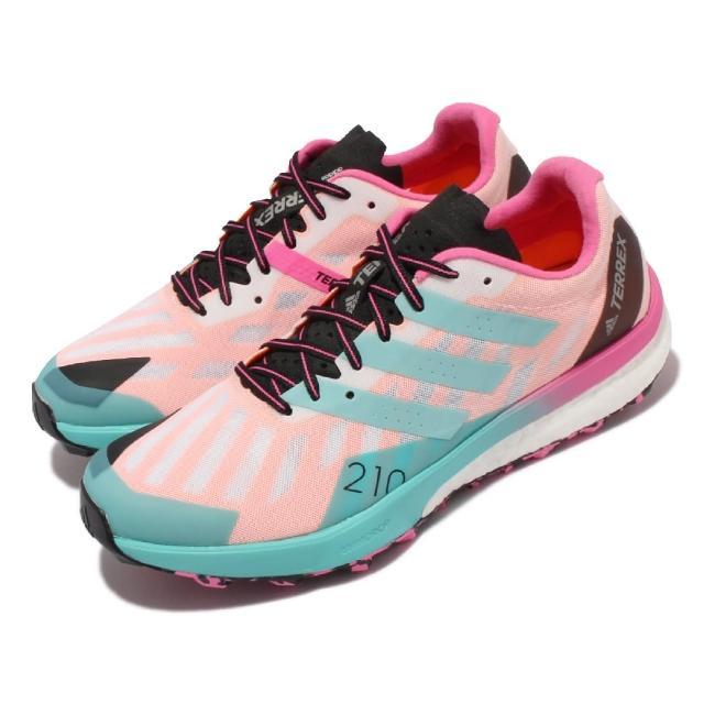【adidas 愛迪達】慢跑鞋 Terrex Speed Ultra 女鞋 海外限定 越野 路跑 馬牌底 避震 彩(FW2833)