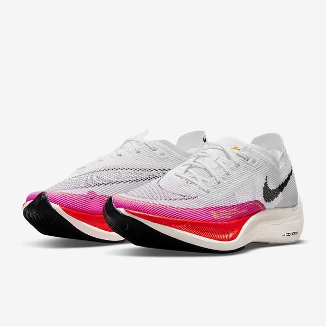 【NIKE 耐吉】慢跑鞋 W ZOOMX VAPORFLY NEXT% 2 女鞋 白粉(DJ5458100)