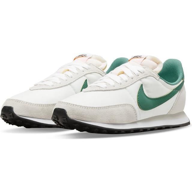 【NIKE 耐吉】休閒鞋 W NIKE WAFFLE TRAINER 2 SE 女 白綠(DA8291001)