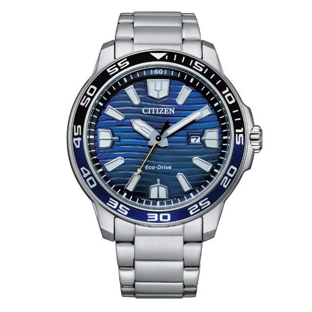 【CITIZEN 星辰】流線時光光動能腕錶(AW1525-81L)