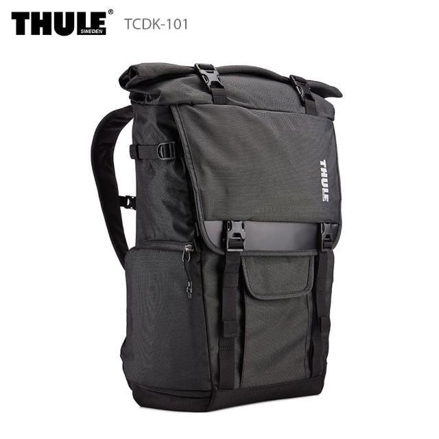 【Thule 都樂】TCDK-101 上掀式相機後背包 Covert DSLR Rolltop(相機包/筆電包/登機包)