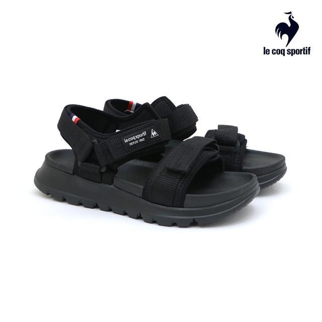 【LE COQ SPORTIF 公雞】涼鞋 休閒鞋 男/女鞋-黑-LKN7321099