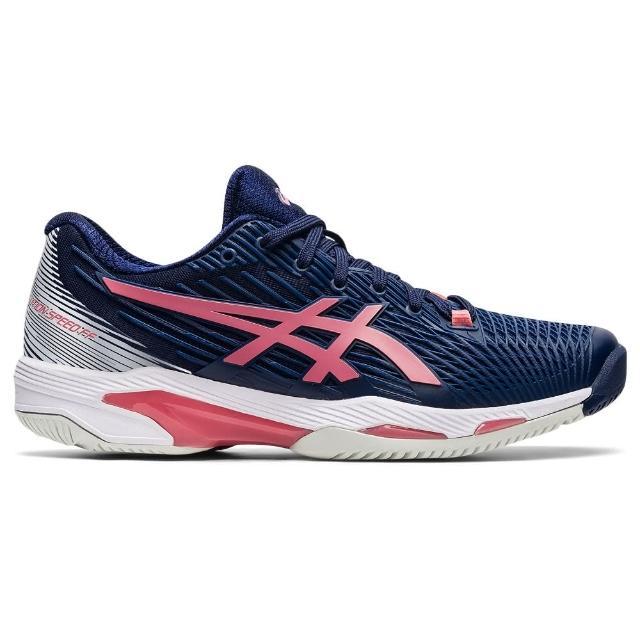 【asics 亞瑟士】網球鞋 SOLUTION SPEED FF 2 女 網球 網球鞋(1042A136-402)